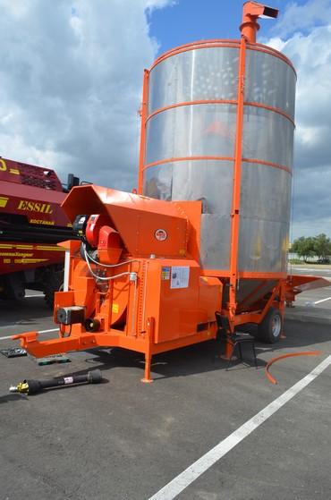 шредеры 15 17 в Кыргызстан: Зерносушилка мобильная Agrex AGD-15. Может работать как от электросети