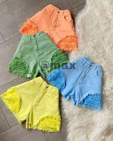 """New Zara,Lolli"""" Shorts Velicine:S M L XL Boje:Plava, Žuta i Mint"""