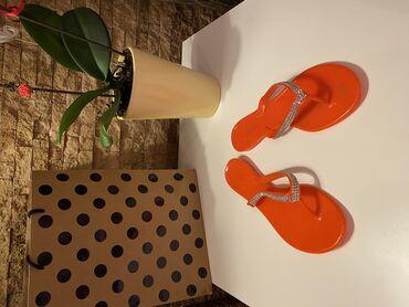 Ženska obuća | Beograd: TOTALNA RASPRODAJA!!!!  Nove bele japanke sa masnom, broj 38  Snizene