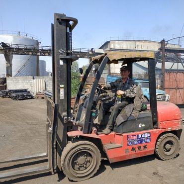 Продается красная кара, рабочая 3 тонник. Китай Цена: 3000$ в Бишкек