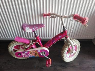 Bicikl Barbie original, gume se duvaju  bez pomocnih tockica je. Ram - Sabac