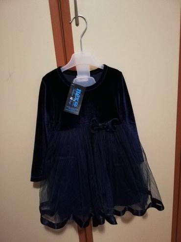 Nova haljinica, sa etiketom, vel 92, teget boje. - Krusevac