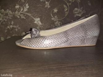 Для ценителей хорошей обуви балетки с открытым носом  производство Таи в Кант