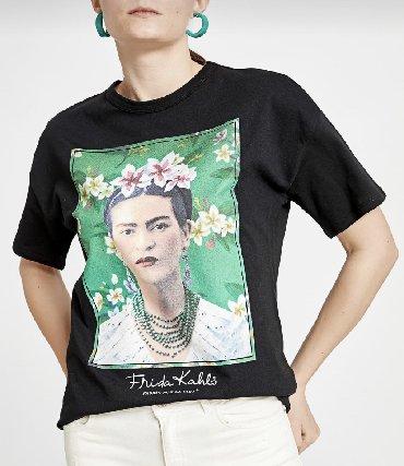 Frida Kahlo T-shirt ( 2 eded S ölçü ; 100%pambiq )Çatdirilma Sumqayit