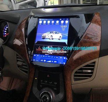 Hyundai Elantra Vertical Screen Car radio tesla android GPS navigation in Kathmandu - photo 3