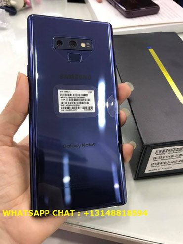 Samsung Note9 512GB with Original Accessories  в Душанбе