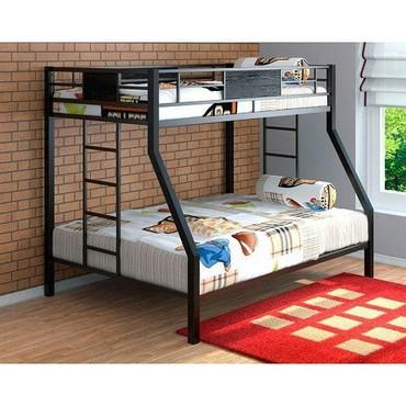 Другие кровати в Кыргызстан: Двухъярусная кровать  Размер нижний ярус 1200х1900 нижний ярус 900х19