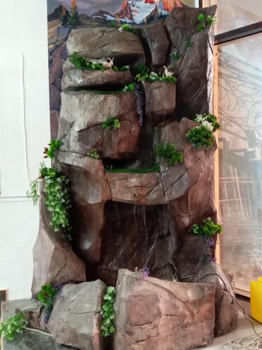Другие строй услуги - Ак-Джол: Декоративный водопадпозвоните договоримся