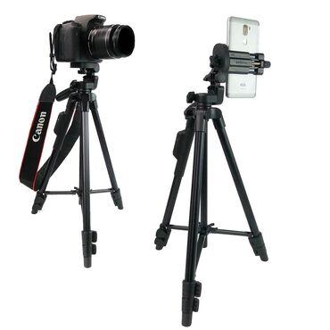 Аксессуары для фото и видео в Кыргызстан: Штативы Yunteng VCT 5208.Доставка по Бишкеку бесплатна при заказе