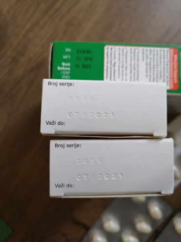 Farmerke original - Srbija: Utrogestan 200 mg dve kutije, rok 07/2021, i Pregnacare original jedna