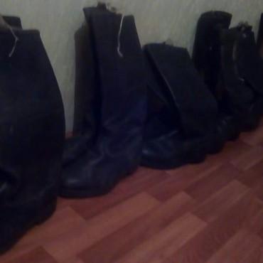 Ботинки - Кок-Ой: Яловый сапоги для кокбору