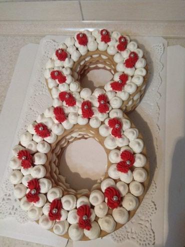 Торты пирожные на заказ в Кок-Ой