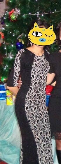 Турецкое чёрное платье.русалка. размер 38 в Бишкек