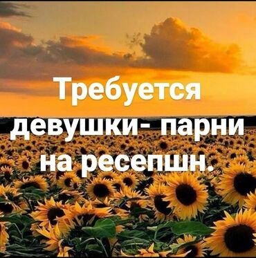 вип девушки бишкека in Кыргызстан | SIM-КАРТЫ: Требуется Девушки и парни на ресепшн !!!Возраст от 18 и выше . Можно