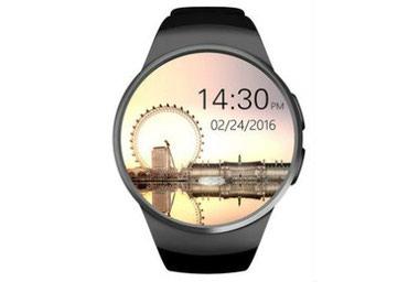 Умные смарт часы King Wear KW18 Black в Бишкек