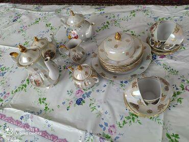 Кухонные принадлежности в Кызыл-Суу: Чайный сервис 25 предмета на 6 персон Мадонна. Производство Германия