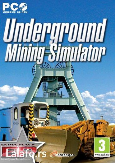 UNDERGROUND Minning Simulator igra za pc (racunar i - Boljevac