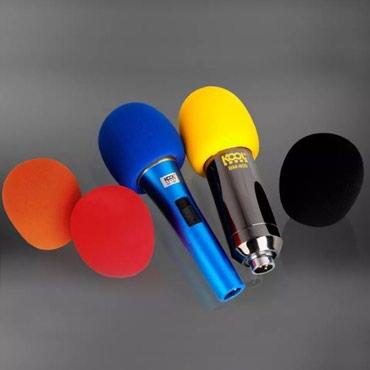 Bakı şəhərində Pop filter mikrafon basligi 5 eded 5 rengli teze paketde cox alana