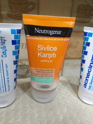 Kosmetika - Masazır: Neutrogena peeling gel