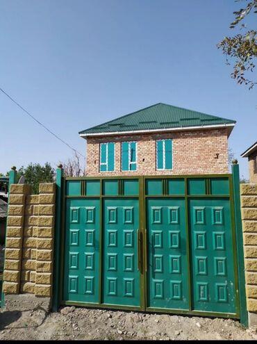 индюки биг 6 купить яйцо в Кыргызстан: 2х этажный кирпичный дом. 6 комнат, + подвал окно зеркальные с зелёным
