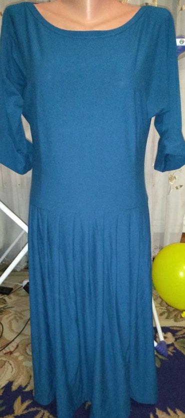 Платье сост.новой р.44-46.Складки,длина в Бишкек