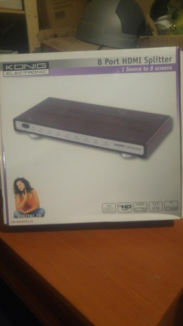 HDMI splitter 1 in 8 out 1080p σε Thessaloniki