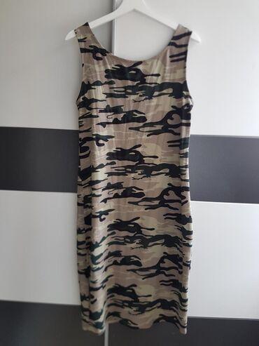 Ostalo | Beograd: Lagana pamučna haljinica, dužina ispod kolena,univerzalna veličina