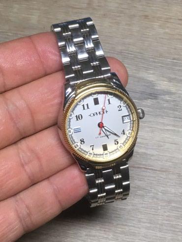 Мужские Серебряные Классические Наручные часы в Бишкек