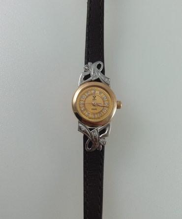 Часы красное и белое золото 585 проба. Длина 20 см. Цена 31400 Сом в Бишкек