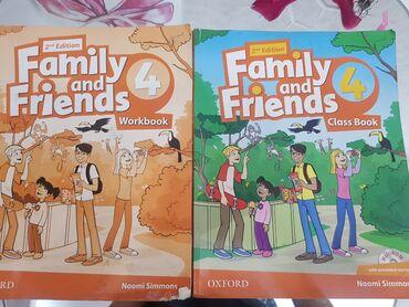 second hand obuv в Кыргызстан: Книги по английскому языку за 4 класс ! Family and friends, Second