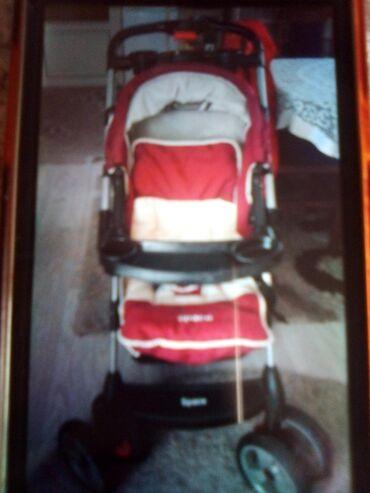 Prodajem decija kolica.Kolica su kako koriscena - kao nova.Cena 10000