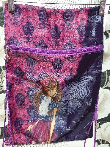 бортики для кроватки в Азербайджан: Рюкзак для физкульторной формы б/у  для девочке