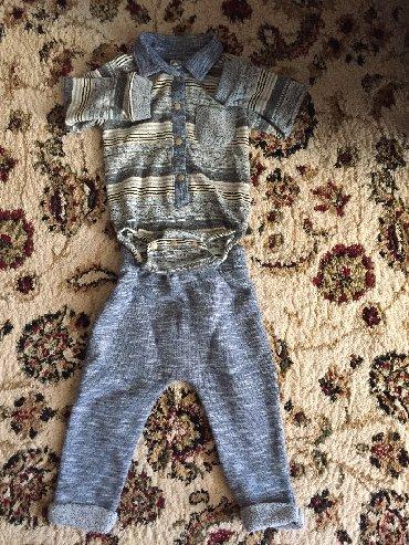 Наборы в Лебединовка: Костюмчик для мальчика! 6-9 месяцев один раз одевали
