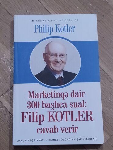 """Flip Kotler'in """"Marketinqə dair 300 başlıca sual""""-adlı kitabı"""