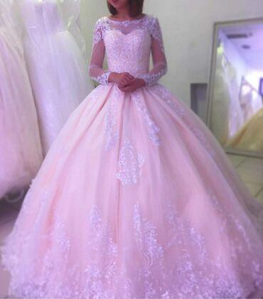 Свадебные платья и аксессуары - Кыргызстан: Сдам свадебное платье на прокат!!! Купила на свою свадьбу и лежит с т