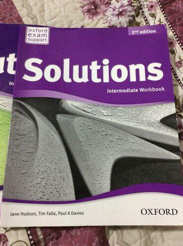 second hand obuv в Кыргызстан: Solutions intermediate Student's book second EditionВ отличном
