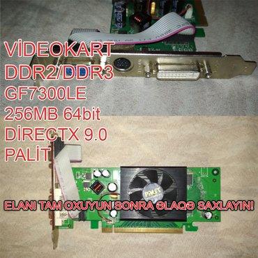 Videokart NVİDİA GF7300 LE в Баку