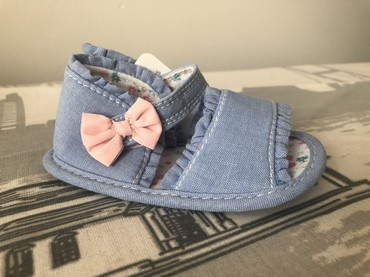 детские лаковые туфли в Азербайджан: Новые детские босоножки Mothercare. Размер 18