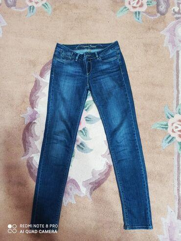 Продаю джинсы, Турция. Покупала в магазине Collins за 3500 сом. Почти