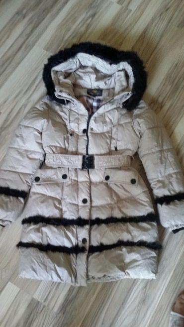 весенние куртки для девушек в Кыргызстан: Куртка удлиненная для девушек 42_44р б/у