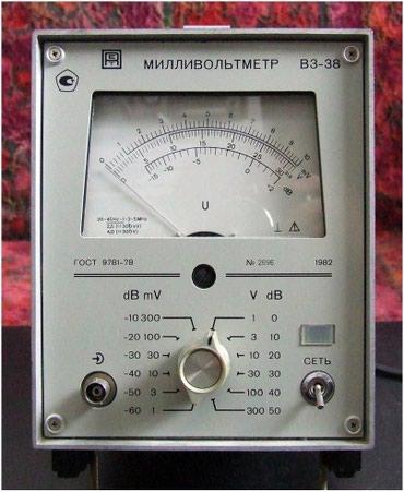 shvejnye-mashinki-3 в Кыргызстан: Продаю Милливольтметр В3-38,1мВ-300В,Нч-Вч,незаменимый прибор при