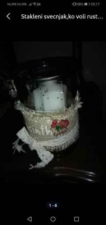 Rasveta | Sombor: Svečnjak stakleni
