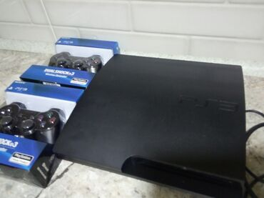 playstation pc в Кыргызстан: PlayStation 3 Slim 500 GB. Приставка прошита (Hen 4.86), установлен