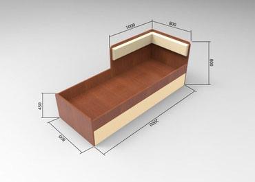 Кровать с выдвижными ящиками в Bakı