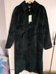 Женская одежда - Джал: Очень срочно! Продается новое теплое пальто. Размер 48-50. 2000 сом!