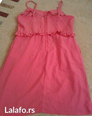 Roze letnja haljinice, obucena jednom.. Odgovara veličini m-l - Beograd - slika 2