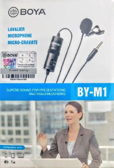 brilliance m1 2 mt - Azərbaycan: Original Boya M1 model universal yaxa mikrafon