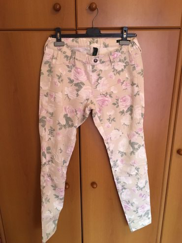 Benetton floral jeggings size 30 in perfect condition σε Περιφερειακή ενότητα Θεσσαλονίκης