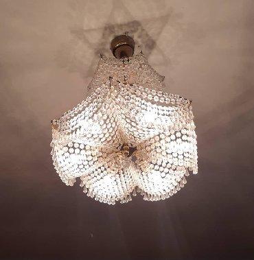 xb usaq kolqotunu almaq - Azərbaycan: 6 lampali xrustal cilciraq. Cexiya istehsali. Iwlekdi. Hec bir