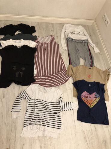 Пакет вещей женских размер 42-44-46  5 футболок Штаны спорт Кофта с дл